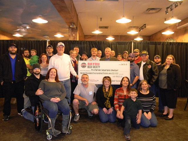 The Bayou Beer Society and Volunteers