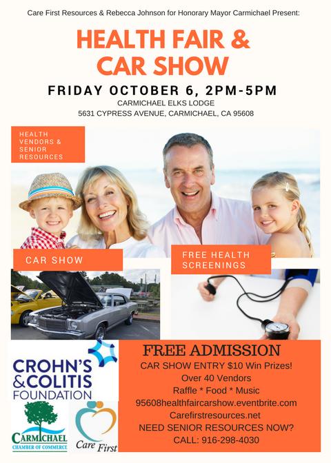 Carmichael Health Fair and Car Show