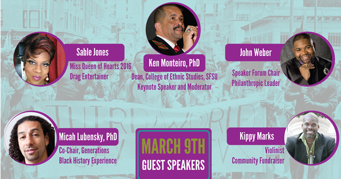March 9th Forum Speakers