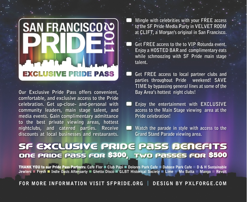 Pride Pass Information