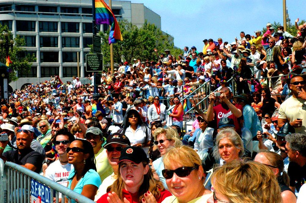 SF Pride Grandstands