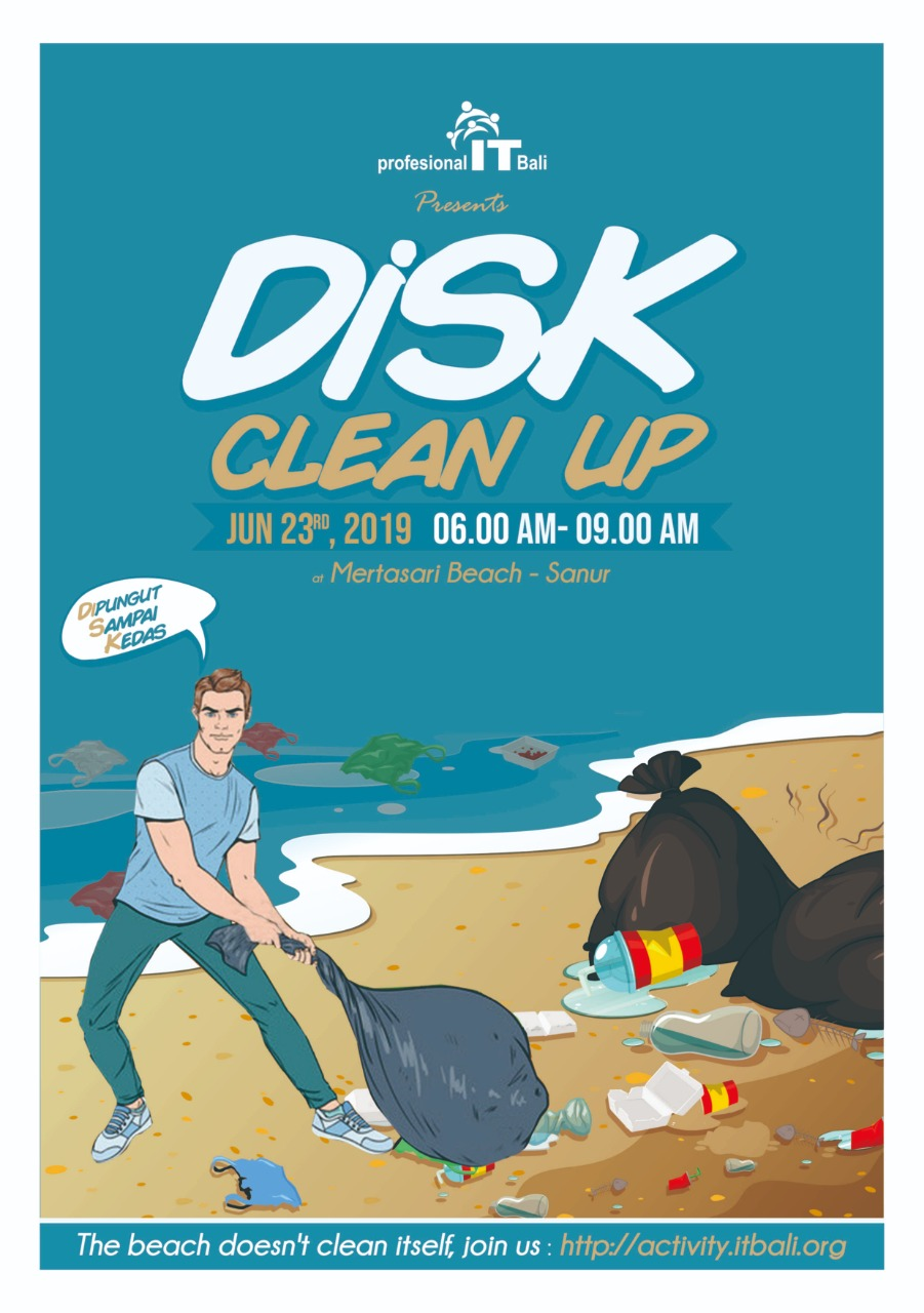 IT Bali DiSK Cleanup 2019