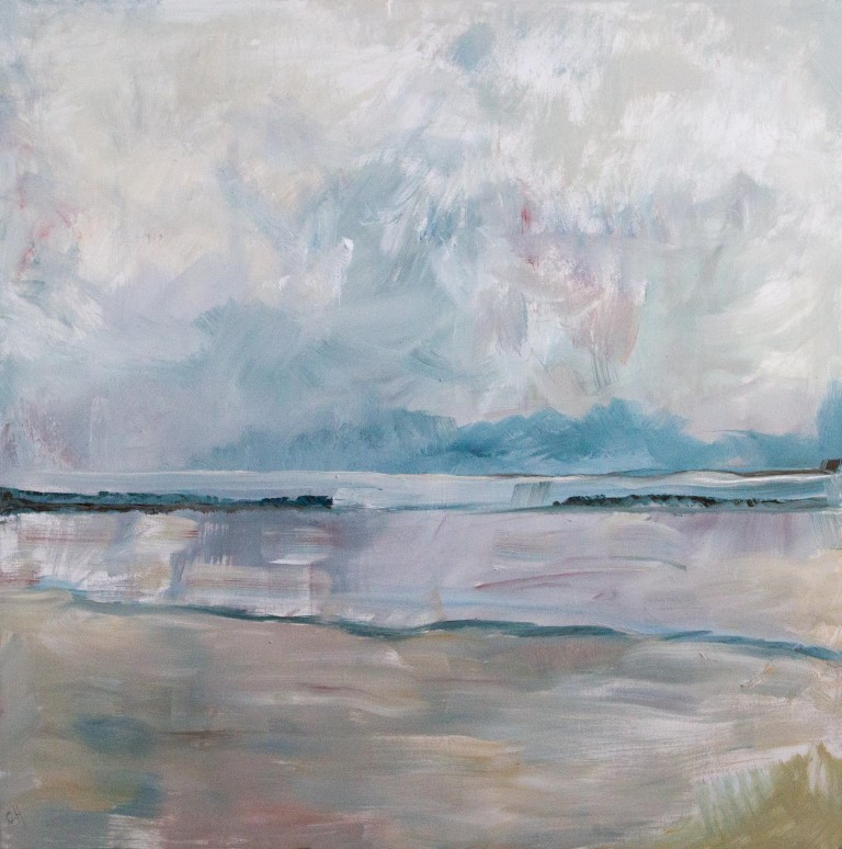 Light Rain Over The Estuary: Chris Howard