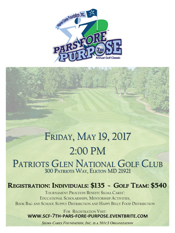 SCF Pars Fore Purpose 7th Annual Golf Classic