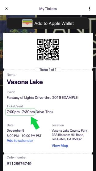 Eventbrite App Ticket Example