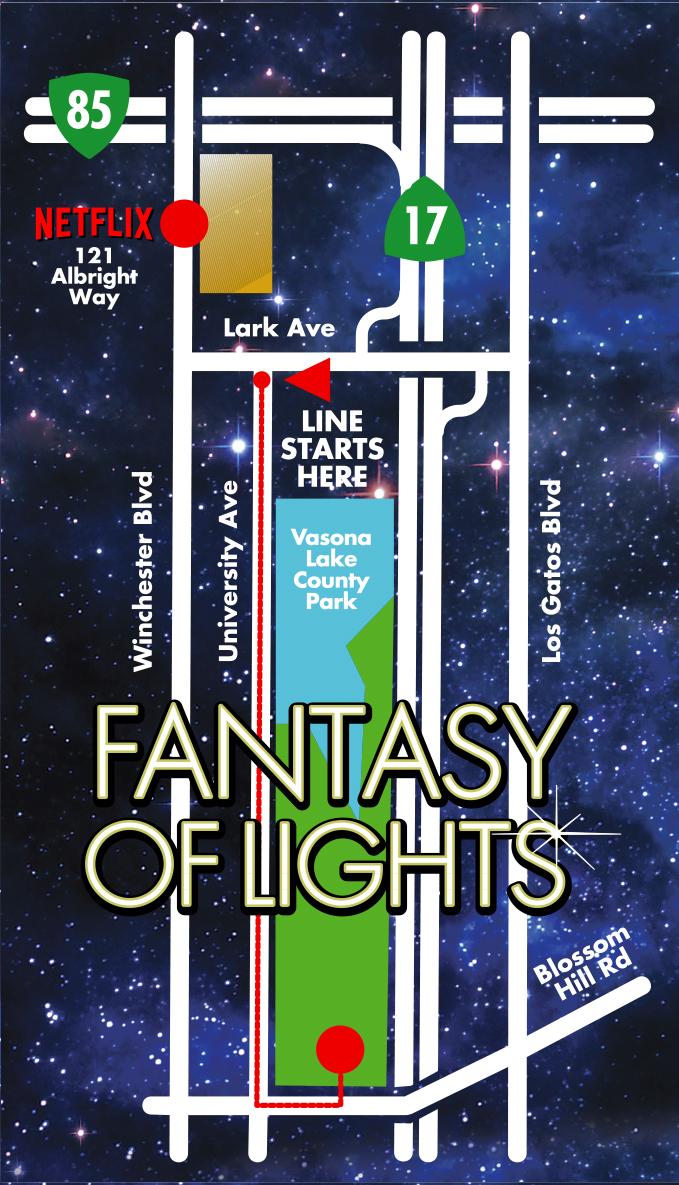FOL Drive-thru Route Map