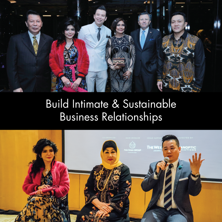 Build Intimate & Sustainable Business Relationships