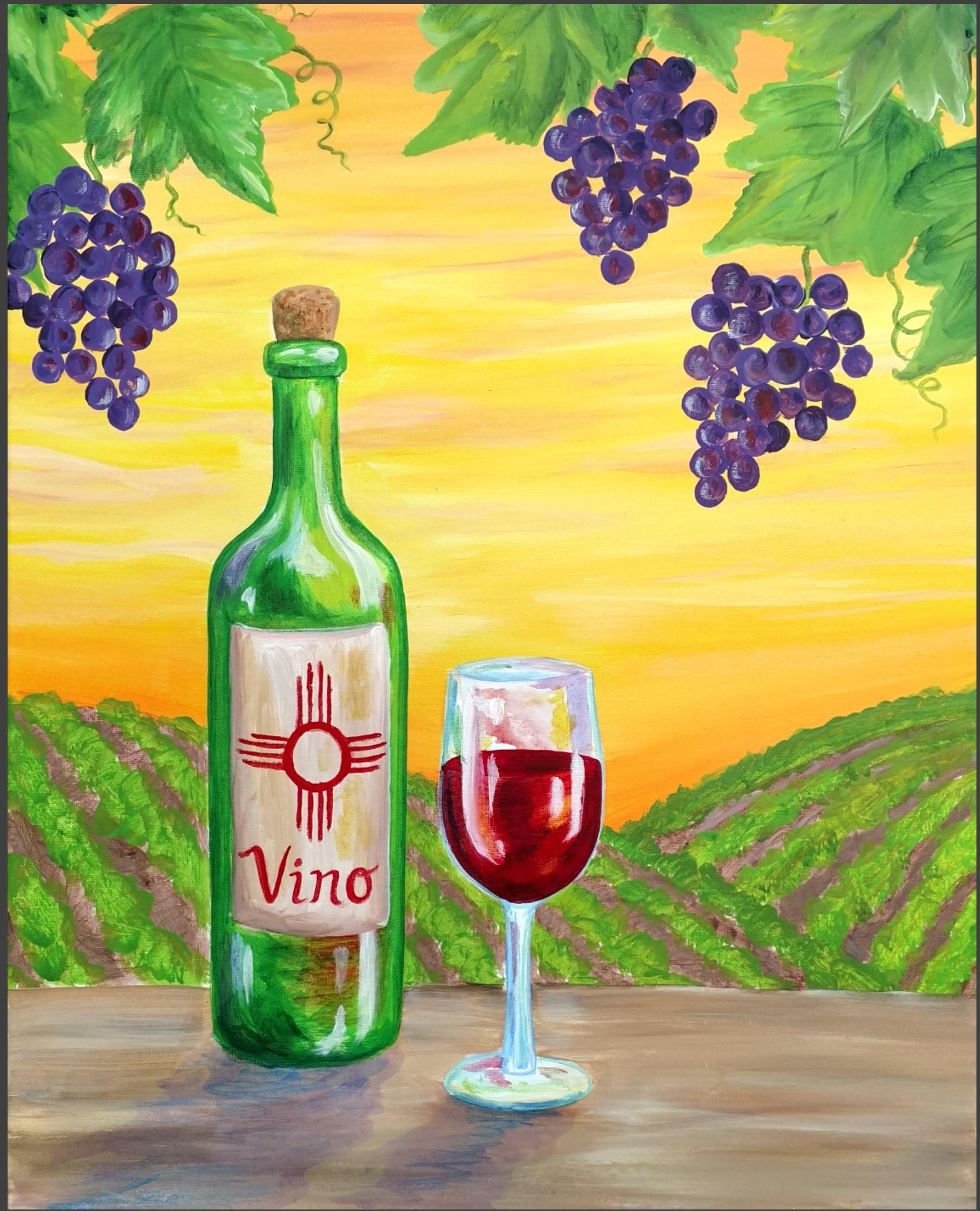 Eventbrite, Adult Paint Party: Summer Vineyard