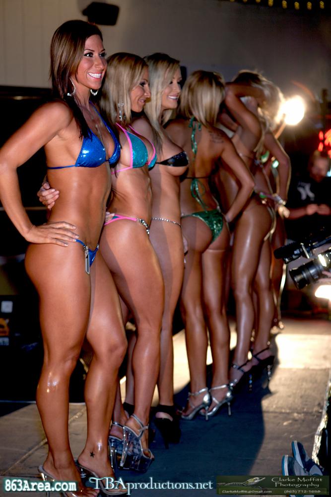 VIP Seat at the Bikini Contest