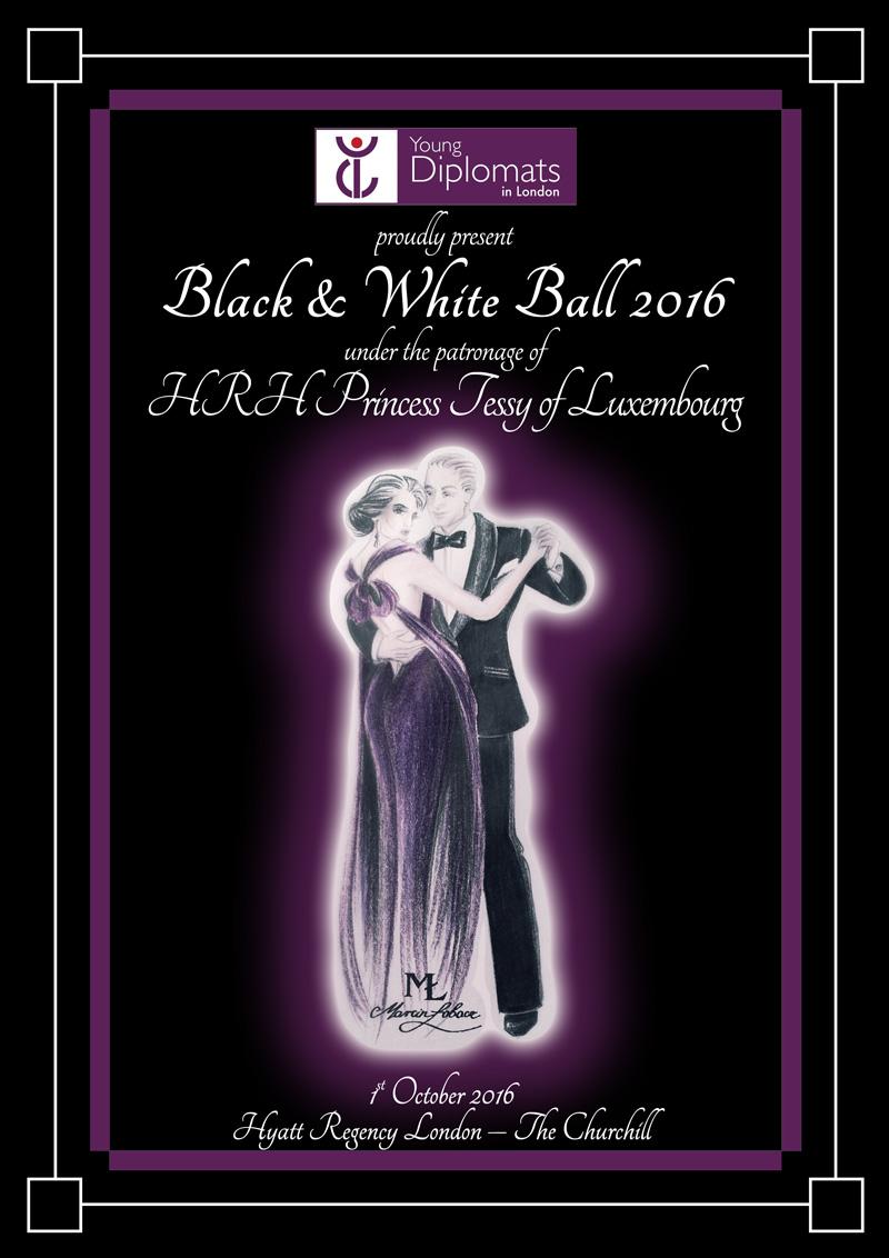 YDL Black & White Ball 2016