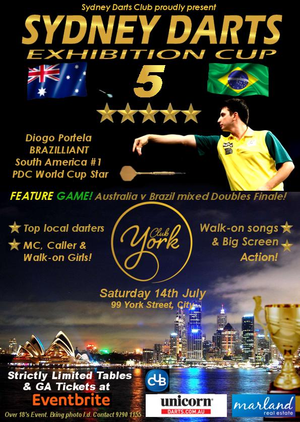 Sydney Darts Cup 5