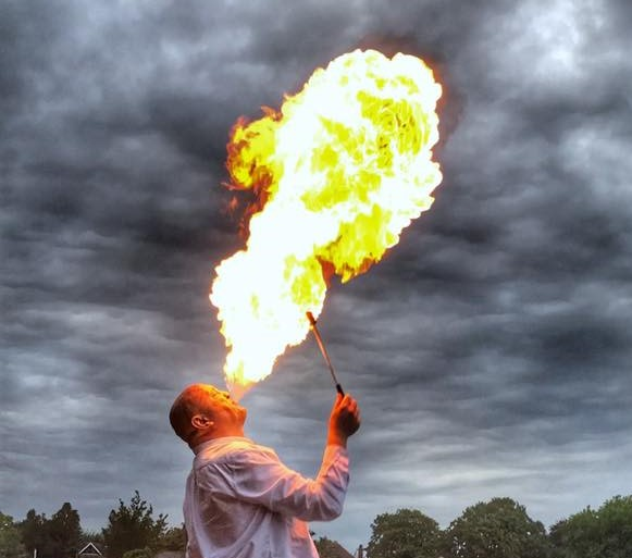 Marcus Fire Breathing