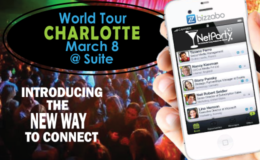 NetParty Networking at Suite Charlotte March 8