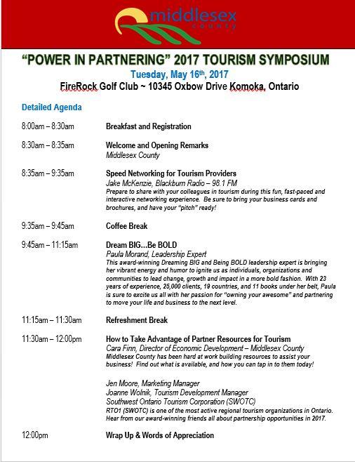 Detailed Symposium Agenda