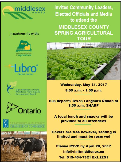 Spring Agricultural Tour Invitation