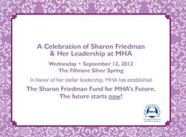 A Celebration of Sharon Friedman        & Her Leadership at...