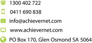AchieverNet Contact Details