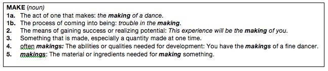 MAKE definition