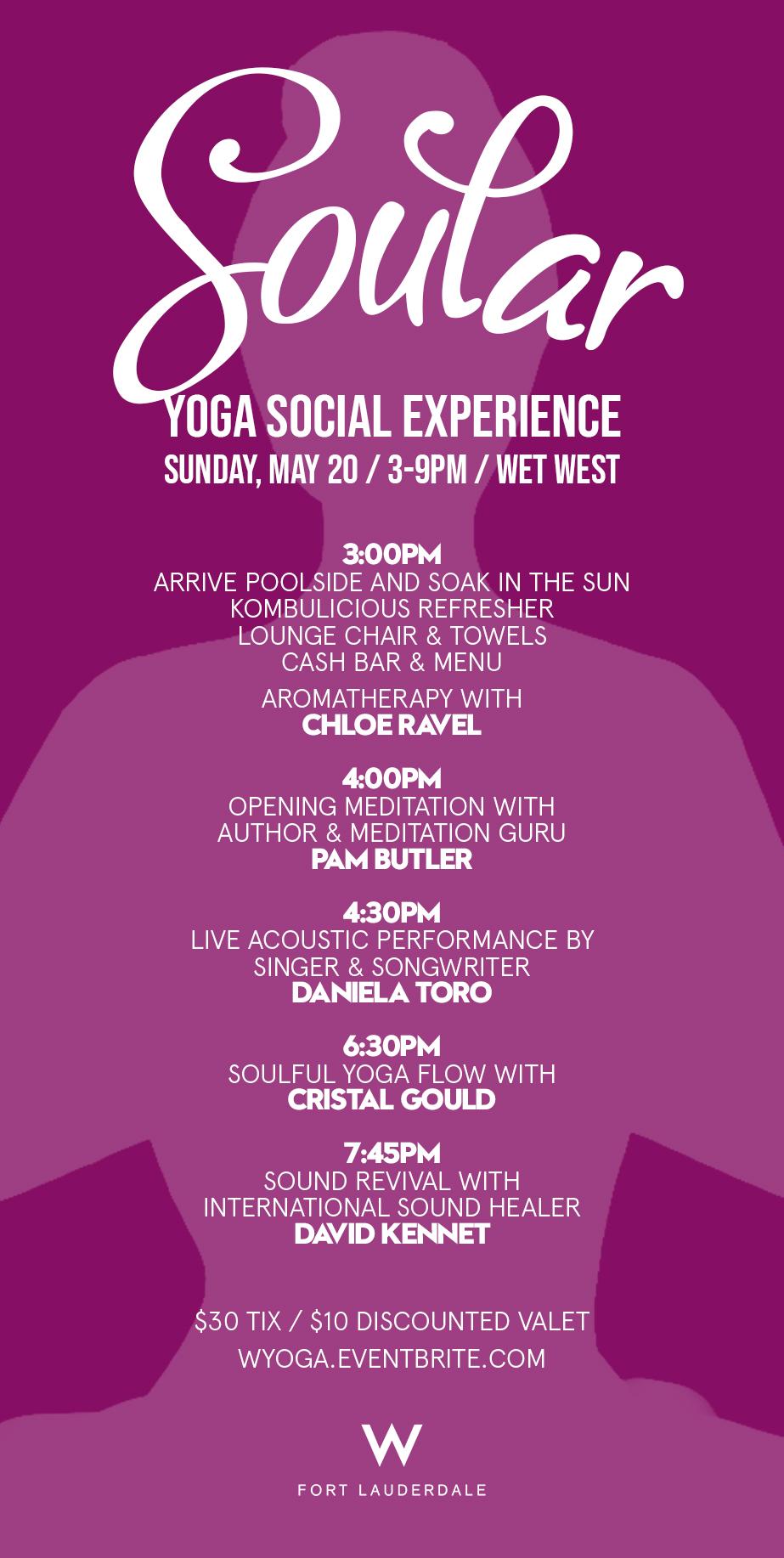 Soular: Yoga Social Experience