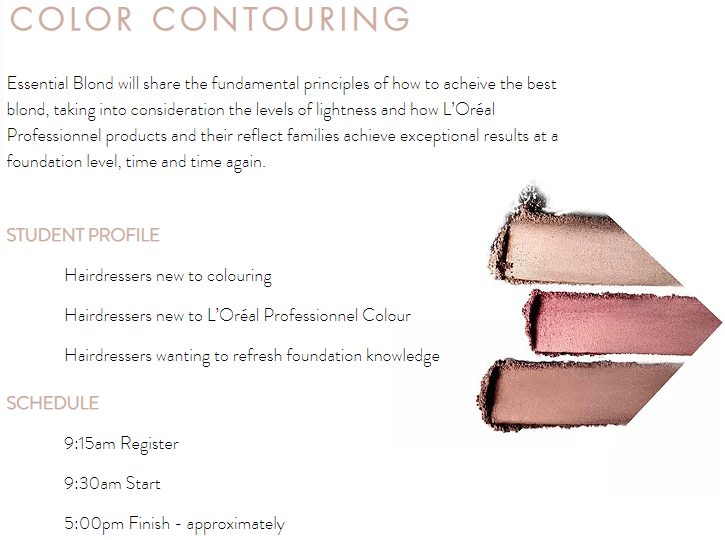 Color Contouring Description