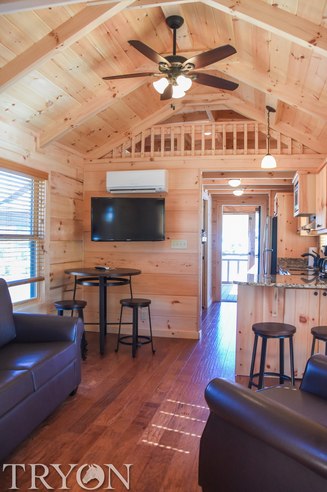 One Bedroom Cottage at Tryon Resort