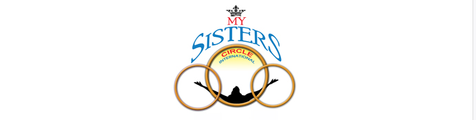 My Sisters Circle with Three Circles and a Woman in the Center