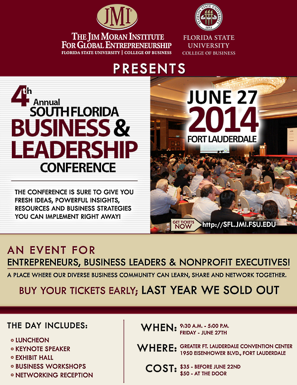 4th Annual SFLA Business & Leadership Conf