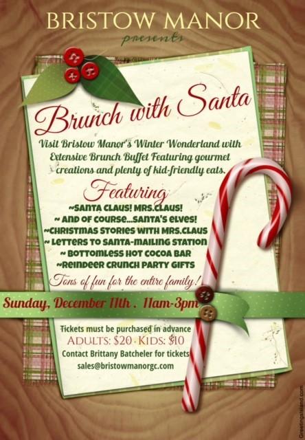 Brunch with Santa Invitation