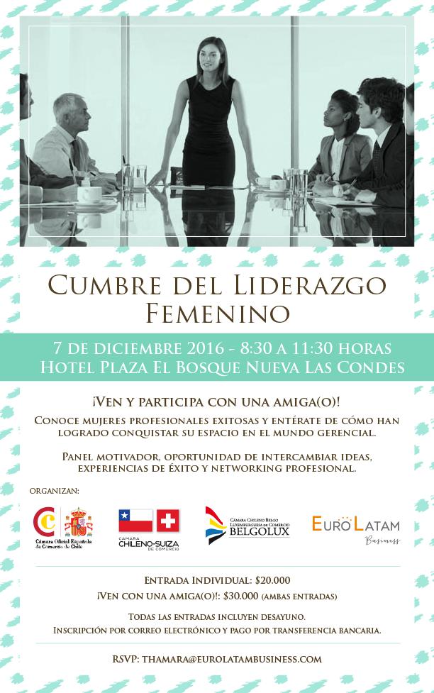 Invitación Cumbre del Liderazgo Femenino