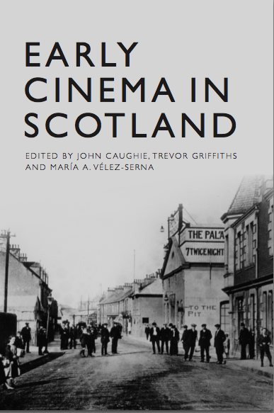 Early Cinema in Scotland book cover