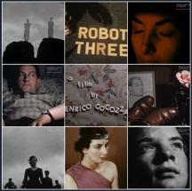 Image of a collection of still from Cocozza's films