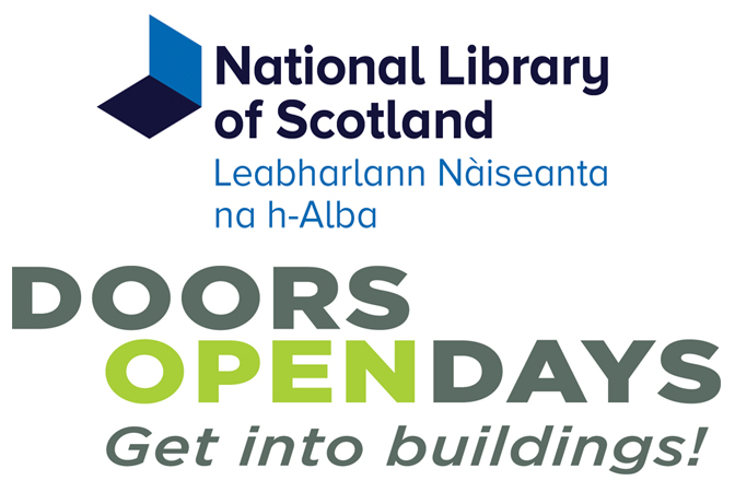 Library and Doors Open Day logos