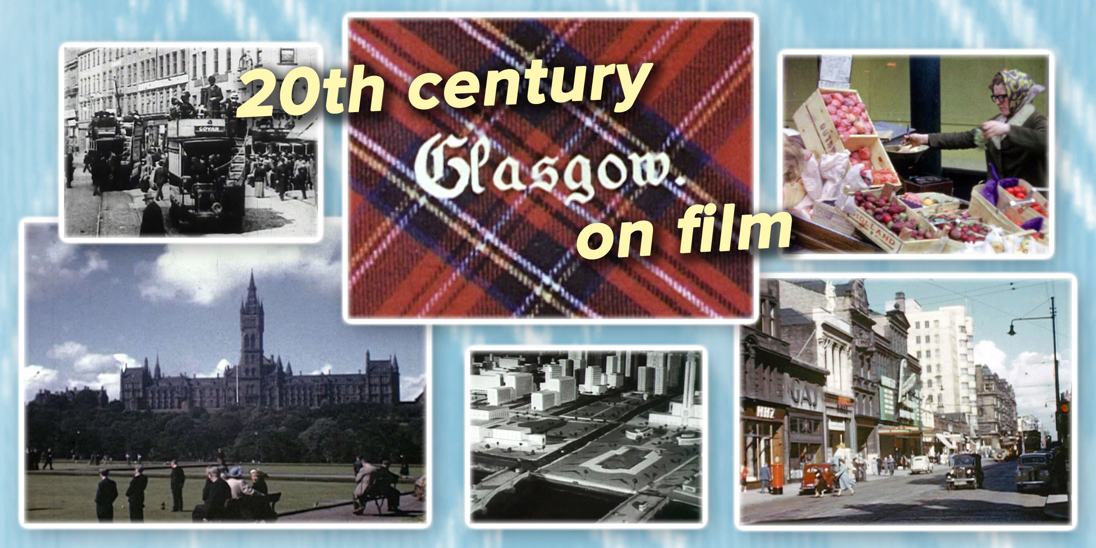 Images of Glasgow and Glasgow life from the 20th Century
