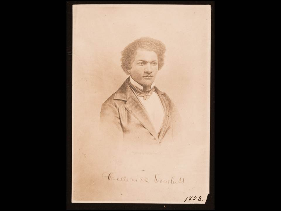 Image of a young Frederick Douglass