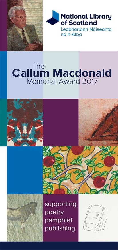 Callum Macdonald pamphlet image