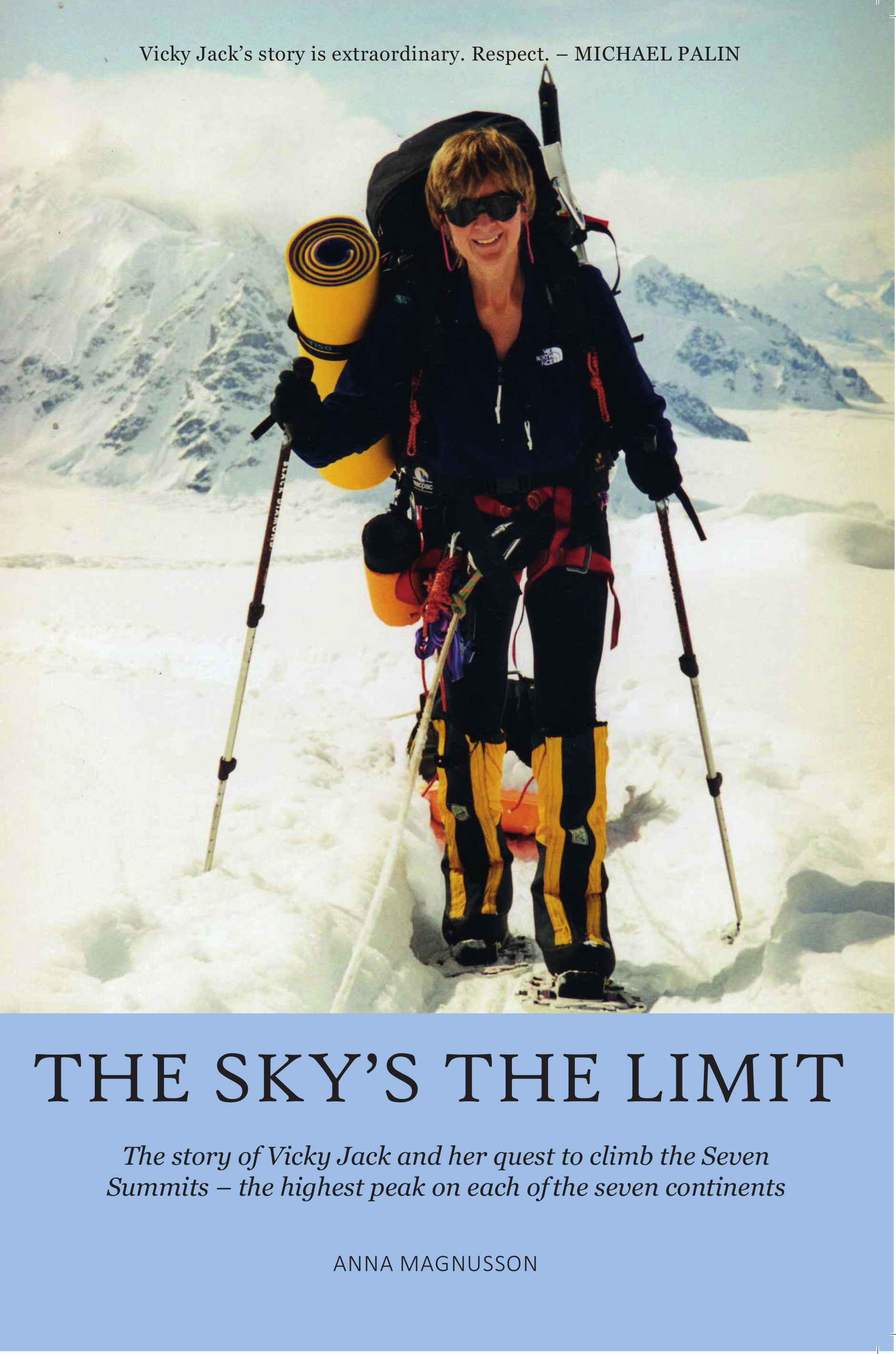 The Sky's the limit book cover
