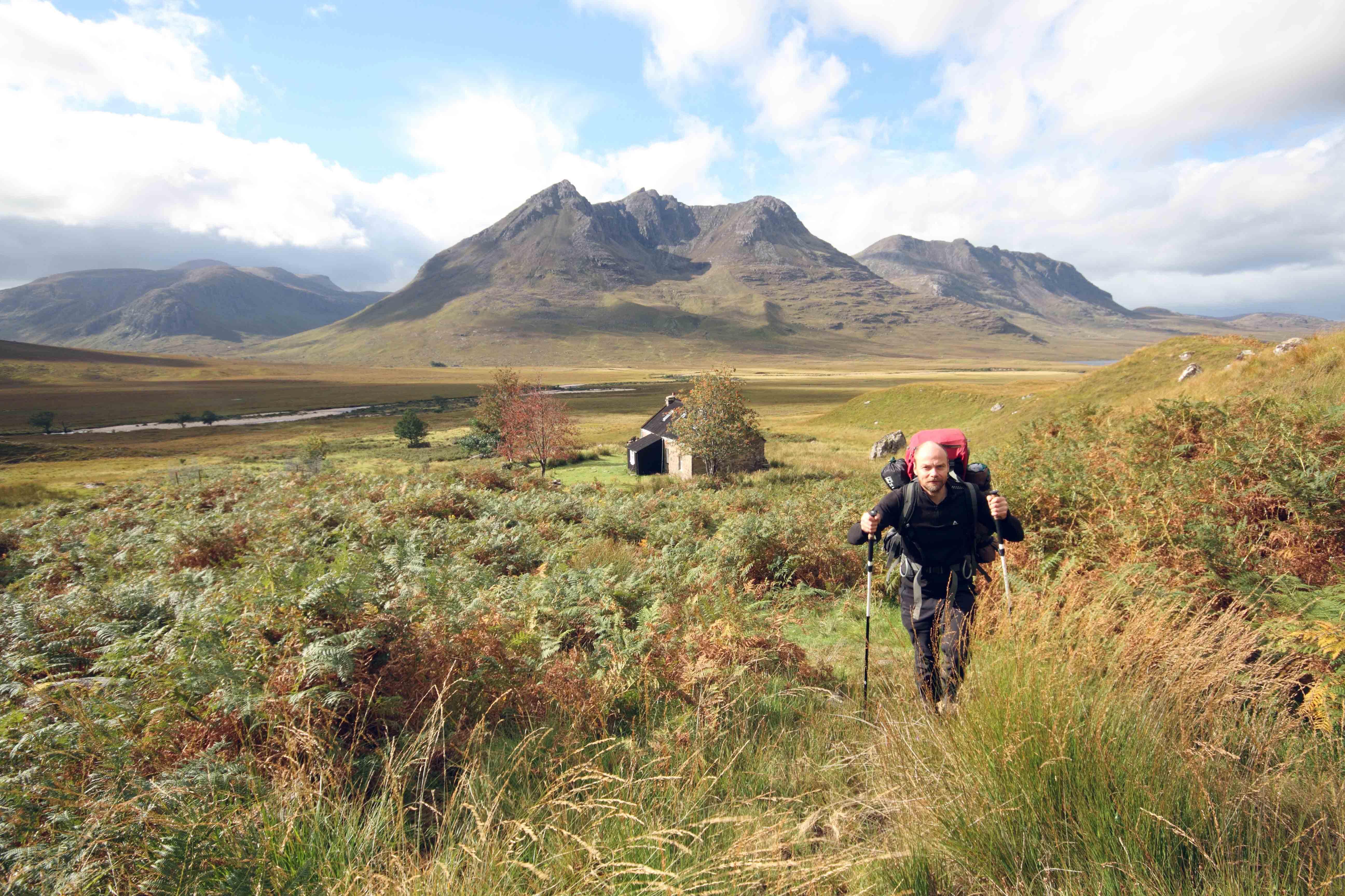 Picture of Geoff Allan in scottish landscape