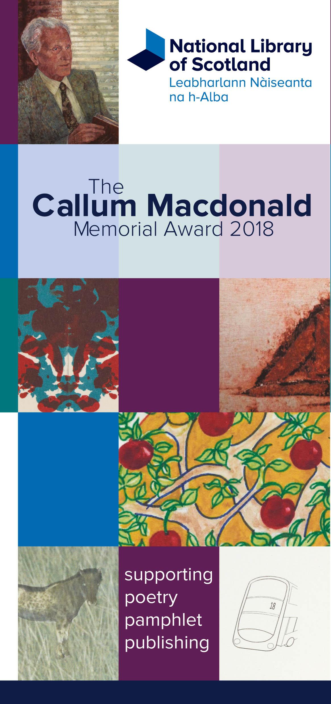 Callum Macdonald Awards 2018 image