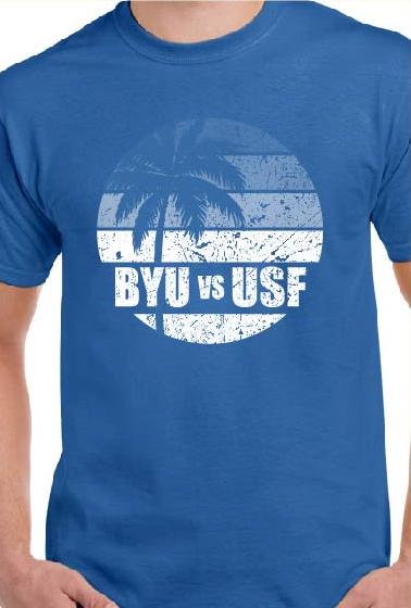BYU vs USF T-Shirt