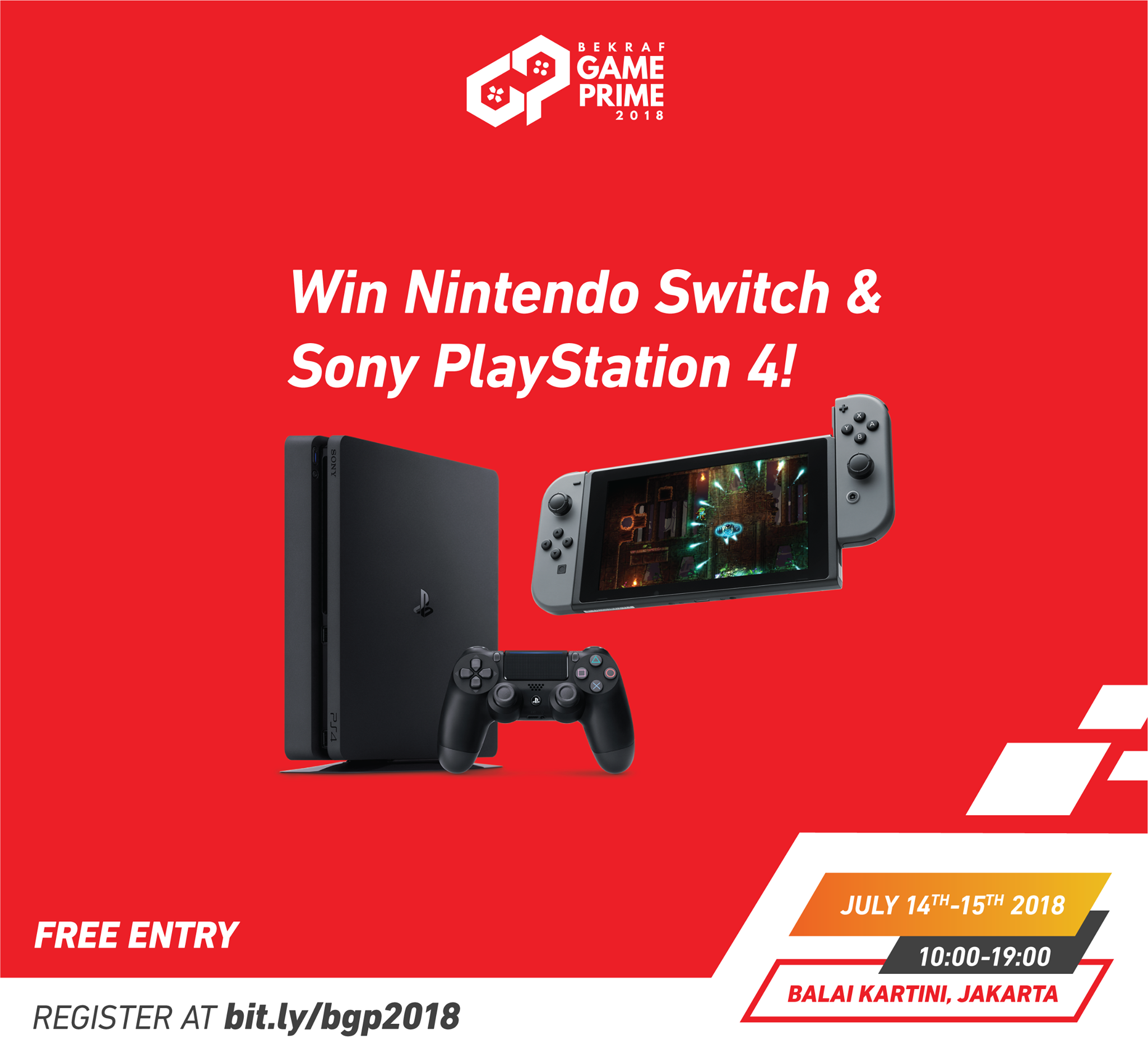 Free PS4 & Switch
