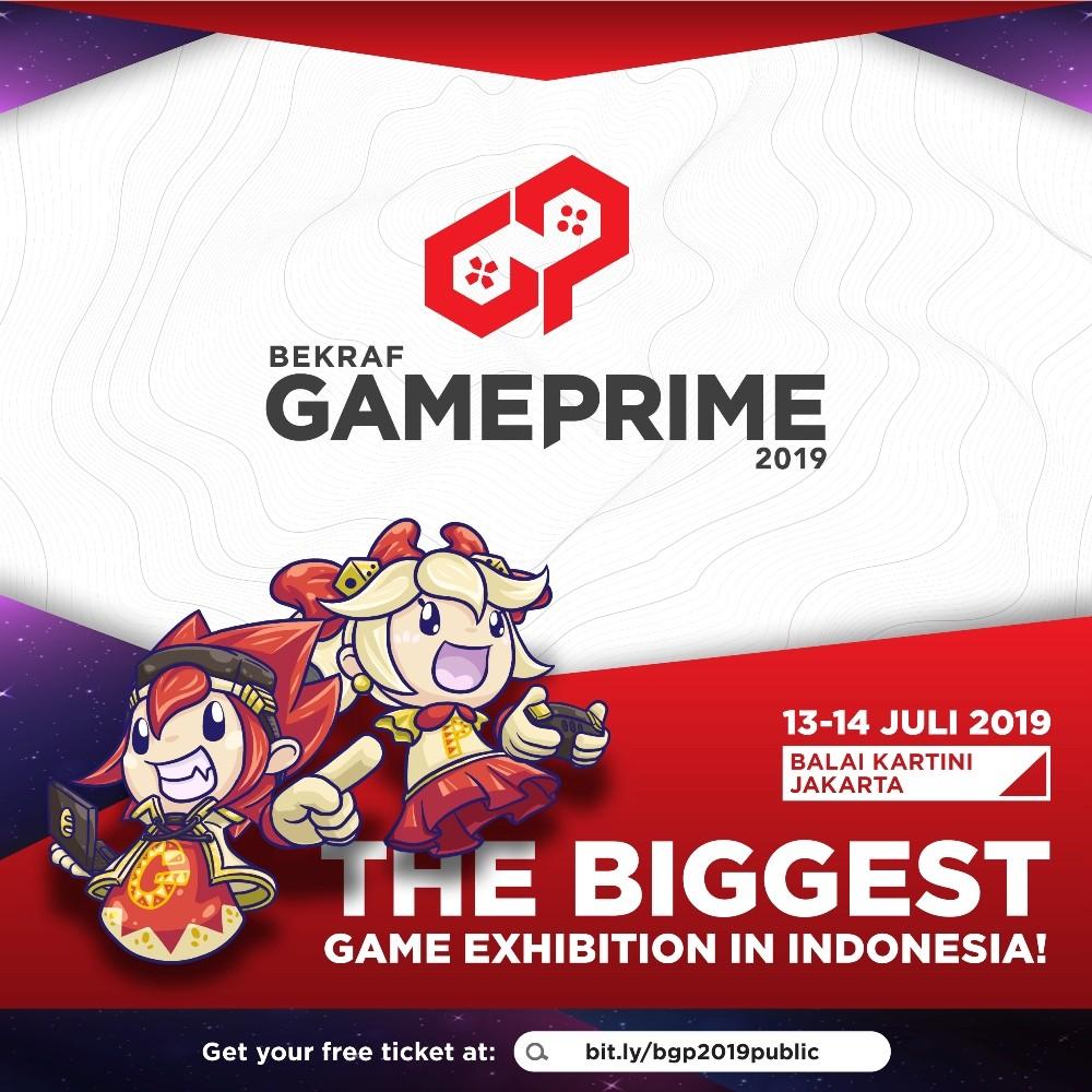 BEKRAF Game Prime 2019 Poster