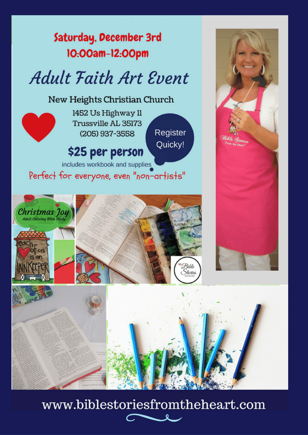 Women's Faith Art Event