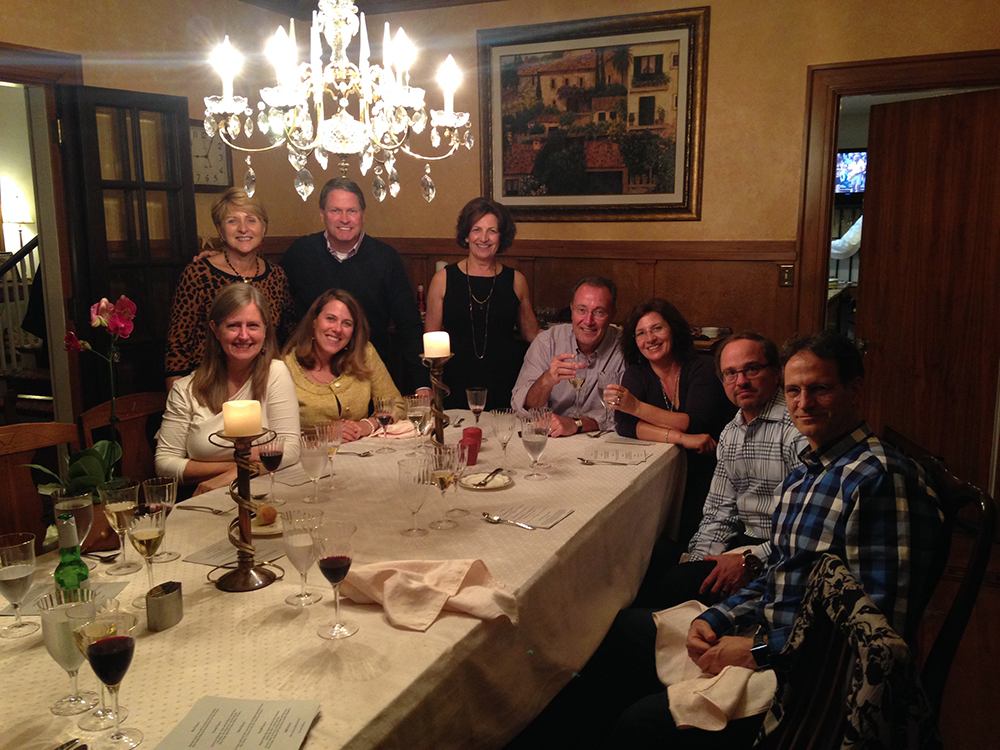 Three Amigos Dinner - Raising of the Green 2015