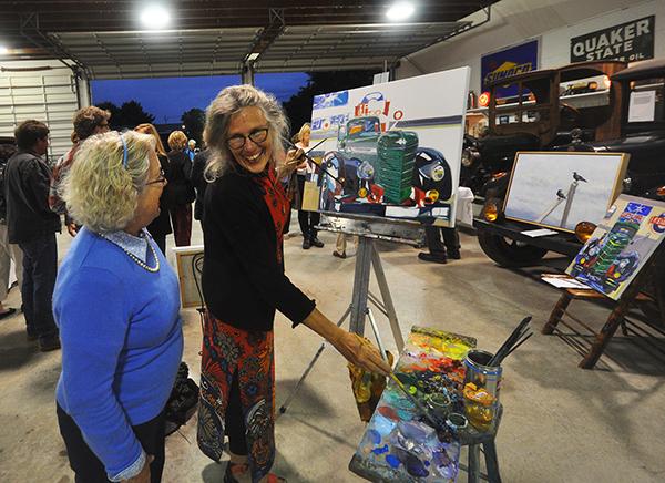 Art on Wheels Jill Hoy event