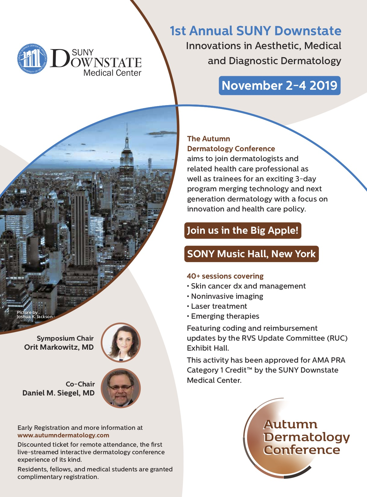 Autumn Dermatology Conference Tickets, Sat, Nov 2, 2019 at 8