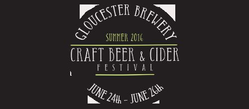 Gloucester Brewery Craft Beer & Cider Festival Logo