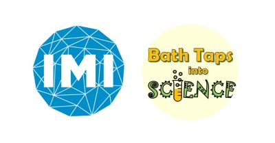 IMI and Bath Taps into Science logo