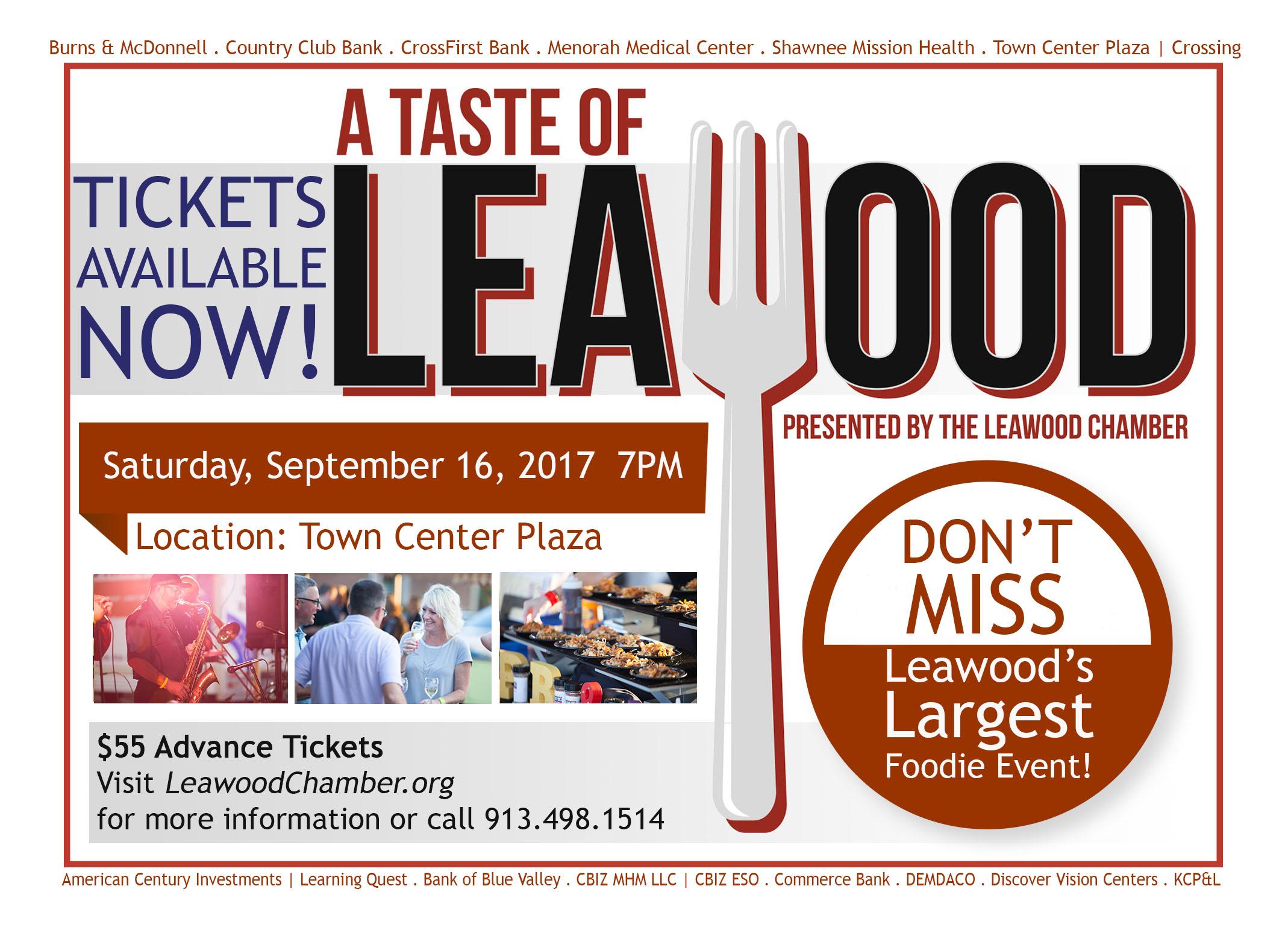 A Taste of Leawood 2017