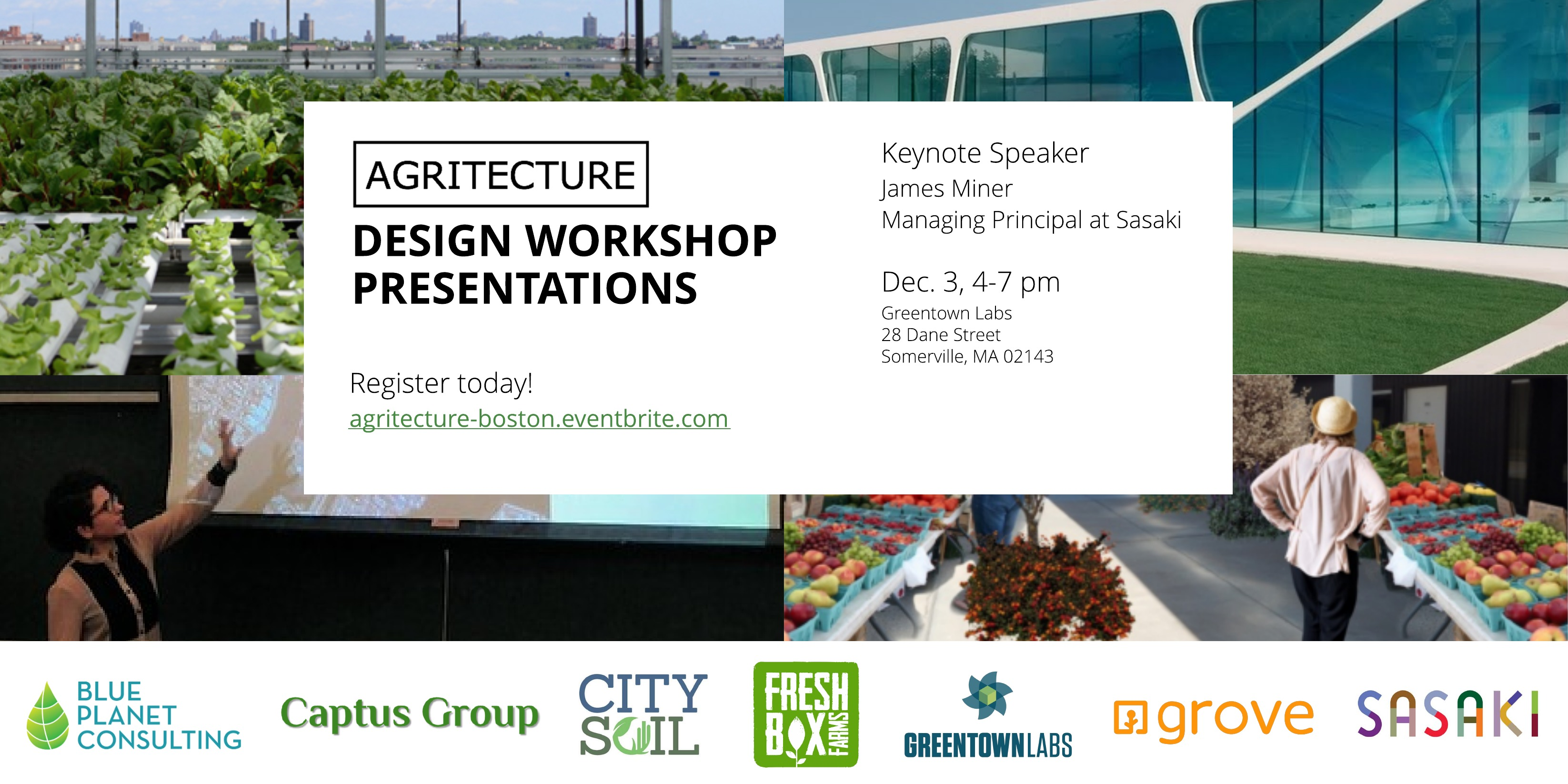 Boston Agritecture Workshop Flyer