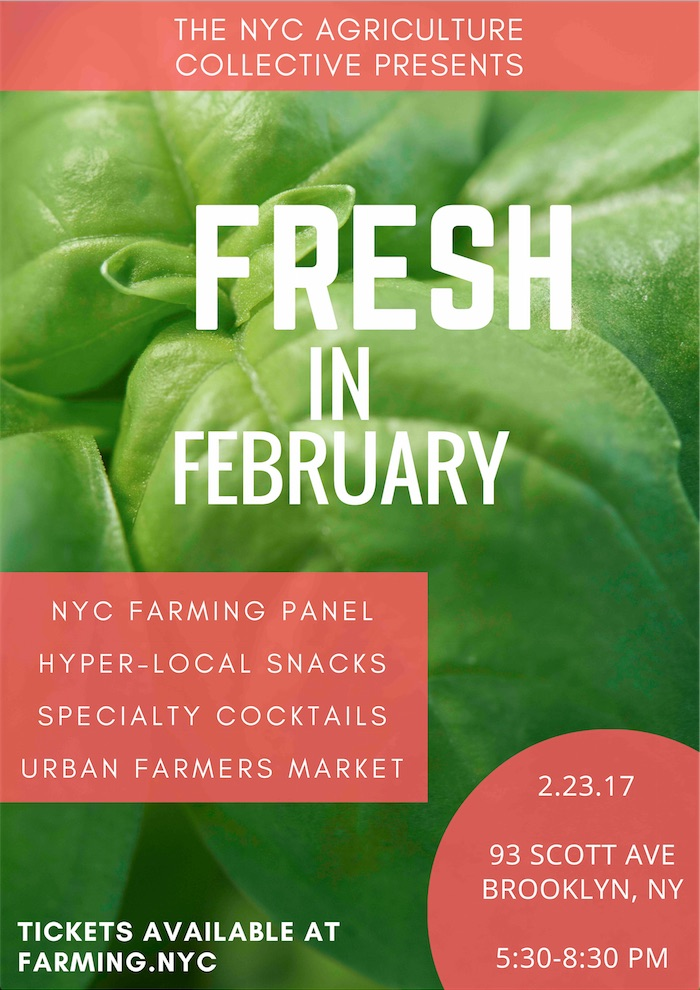 Fresh in February Flyer